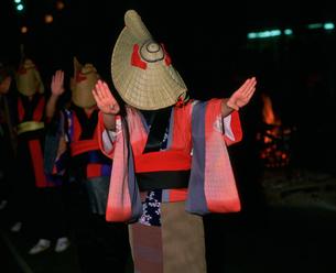 西馬音内盆踊りの写真素材 [FYI03991895]