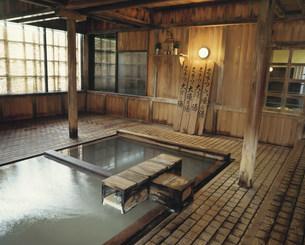 草津温泉 大滝ノ湯の写真素材 [FYI03991910]