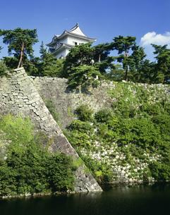 伊賀上野城と高石垣の写真素材 [FYI03992013]