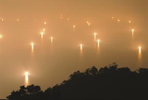 漁火 6月   日置町 山口県の写真素材 [FYI03992100]