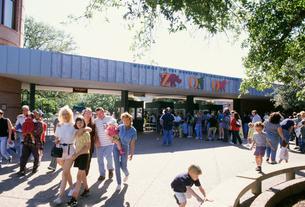 ヒューストン動物園の写真素材 [FYI03992747]