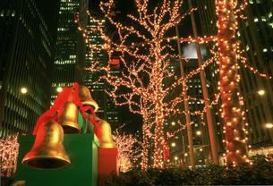 クリスマス 6Ave50丁目付近の写真素材 [FYI03992779]
