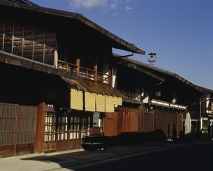 奈良井宿 木曽路の写真素材 [FYI03992963]