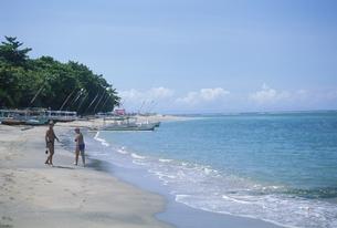 スンギギ・ビーチ ロンボク島 インドネシアの写真素材 [FYI03993052]