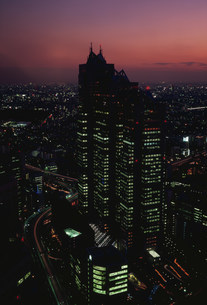 東京の灯りの写真素材 [FYI03993056]