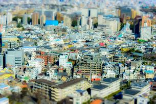 ミニチュア風東京風景の写真素材 [FYI03993080]