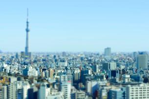 東京ミニチュア風風景の写真素材 [FYI03993083]