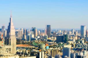 東京ミニチュア風風景の写真素材 [FYI03993085]