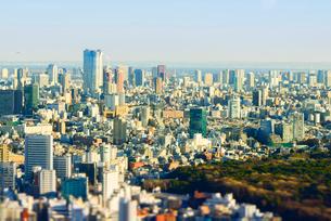 東京ミニチュア風風景の写真素材 [FYI03993087]