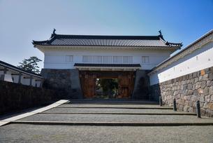小田原城銅門の写真素材 [FYI03993145]