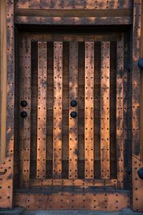 小田原城銅門の写真素材 [FYI03993147]