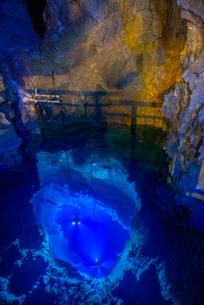 龍泉洞の写真素材 [FYI03993556]