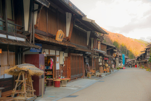 奈良井宿の写真素材 [FYI03994107]
