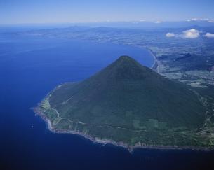 開聞岳と薩摩半島南端の写真素材 [FYI03995613]