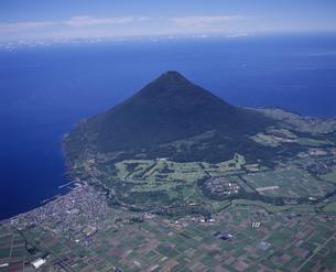 開聞岳全景の写真素材 [FYI03995616]