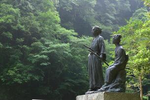 坂本竜馬新婚の碑の写真素材 [FYI03995670]