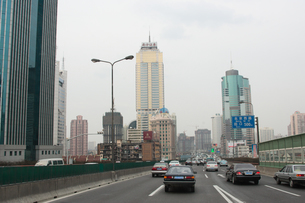 上海市内風景の写真素材 [FYI03995671]