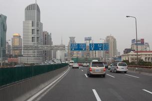 上海市内風景の写真素材 [FYI03995679]