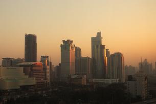 上海市内朝景の写真素材 [FYI03995690]