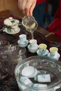 中国茶イメージの写真素材 [FYI03995695]