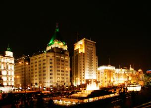旧上海夜景の写真素材 [FYI03995696]