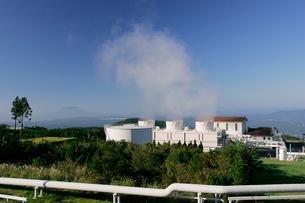 地熱発電所の写真素材 [FYI03995906]