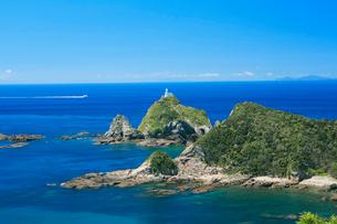 夏の佐多岬の写真素材 [FYI03996004]