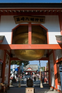 箱崎八幡神社の大鈴の写真素材 [FYI03996143]