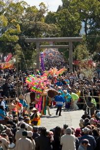 鹿児島神宮初午祭の写真素材 [FYI03996166]