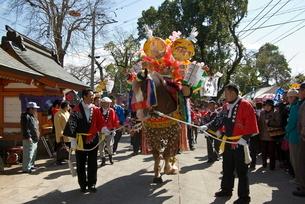 鹿児島神宮初午祭の写真素材 [FYI03996168]