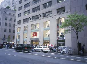 H&Mデパートの写真素材 [FYI03996351]