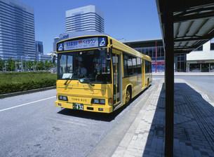 ノーステップバス 平和交通の写真素材 [FYI03996374]