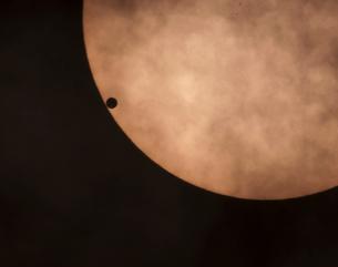 金星の日面通過の写真素材 [FYI03996443]