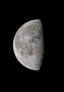 下弦の月の写真素材 [FYI03996638]