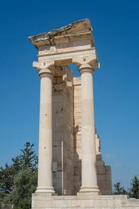 クリオン遺跡アポロン神殿の写真素材 [FYI03996663]