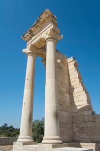 クリオン遺跡アポロン神殿の写真素材 [FYI03996664]