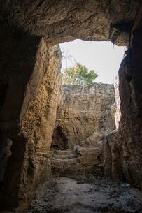 聖ソロモニスのカタコンブの写真素材 [FYI03996670]