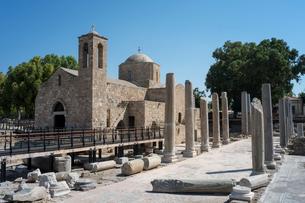 カトパフォスの教会の写真素材 [FYI03996672]