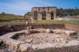 パタラ遺跡の凱旋門の写真素材 [FYI03996798]