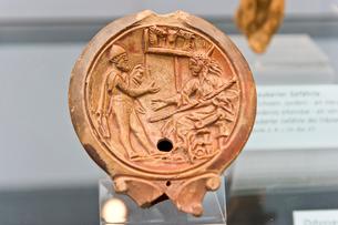 オデュッセウスとキルケの写真素材 [FYI03996849]