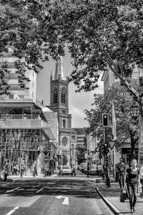 デュッセルドルフの繁華街の写真素材 [FYI03996982]