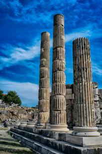 春のレトー神殿の写真素材 [FYI03996983]