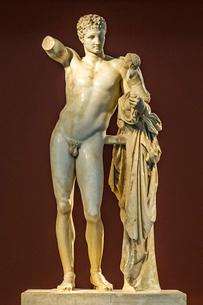ヘルメス像の写真素材 [FYI03997000]