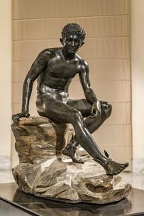 ヘルメス像の写真素材 [FYI03997006]