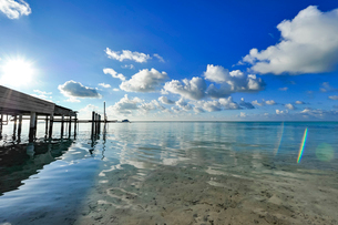 モルディブの風景の写真素材 [FYI03997060]