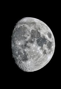 月齢9の月の写真素材 [FYI03997068]
