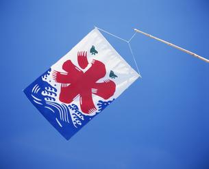 氷屋の旗の写真素材 [FYI03997378]