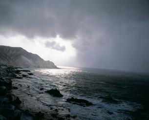冬の竜飛岬の写真素材 [FYI03997482]