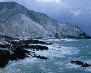 冬の竜飛岬の写真素材 [FYI03997483]