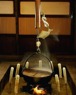 きりたんぽ鍋の写真素材 [FYI03997602]